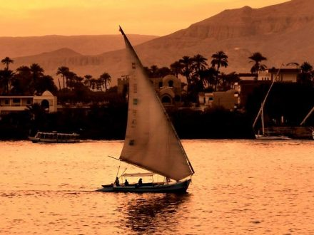 luxor , river nile