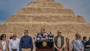 Egypt reopens the step pyramid of Djoser in Saqqara